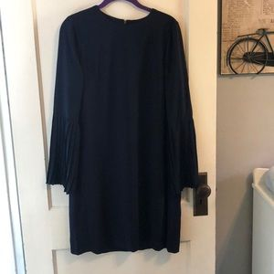 Maggie London navy dress